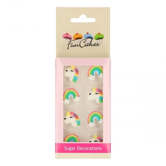 """Cukrinės dekoracijos """"Vienaragiai"""""""