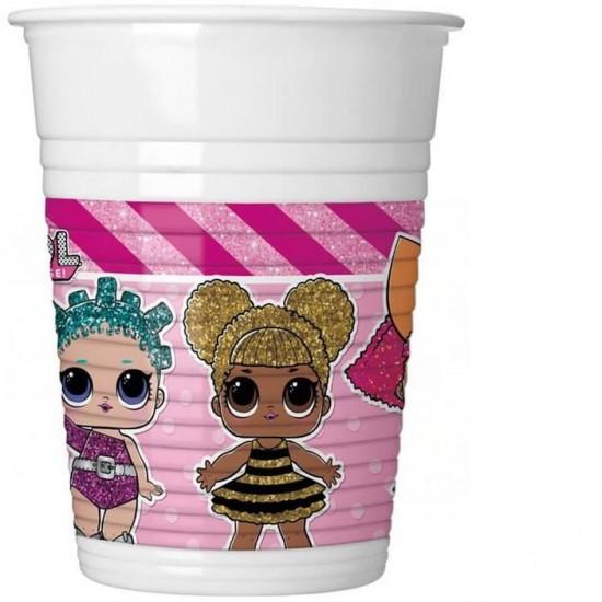 Vienkartiniai puodeliai LOL 200 ml