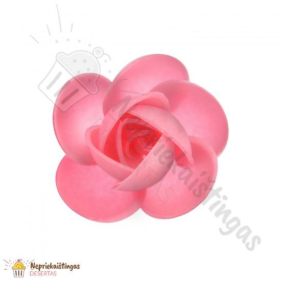 Vaflinės rožytės. Rožinės / matinės 7 vnt.