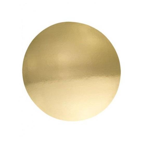 Auksinis padėkliukas tortui 28 cm Ø